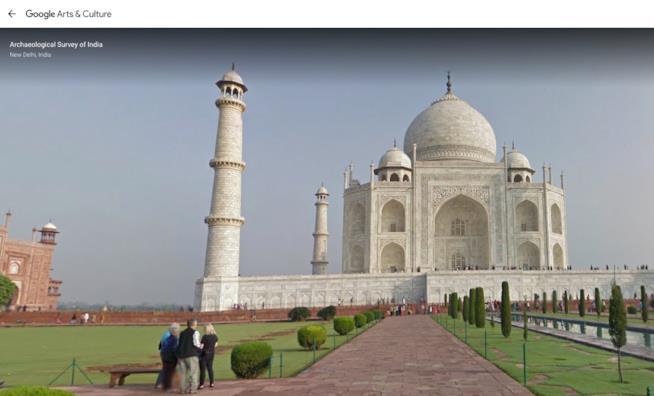 Il Tal Mahal visto dallo schermo