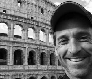 Patrick Dempsey al Colosseo