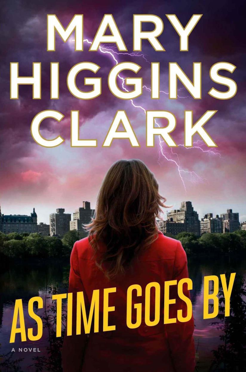 Mary Higgings Clark, copertina inglese di Mentre il tempo brucia