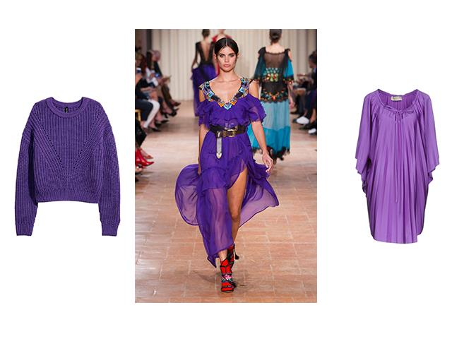 Maglie e abiti in Ultra Violet