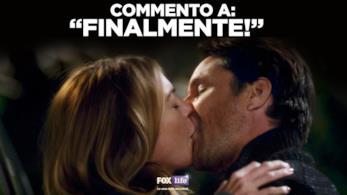 Meredith e Nathan si danno unn bacio davvero appassionato