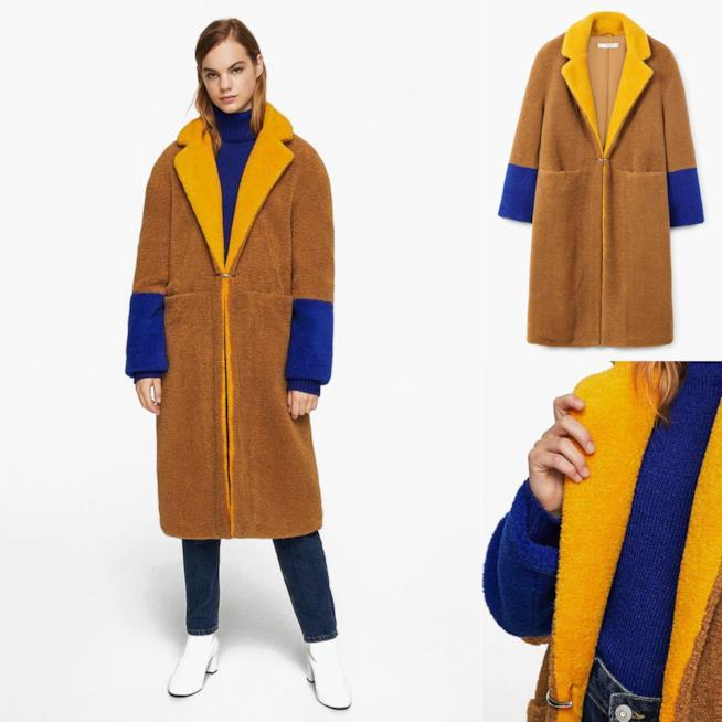 Cappotto in pelliccia da regalare per Natale