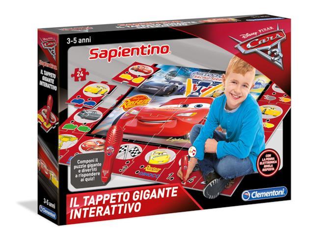 Tappeto Gigante Interattivo Cars 3
