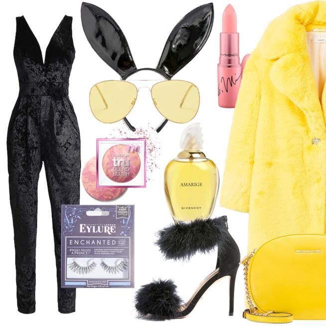 Idee per costume Halloween da coniglietta di Playboy