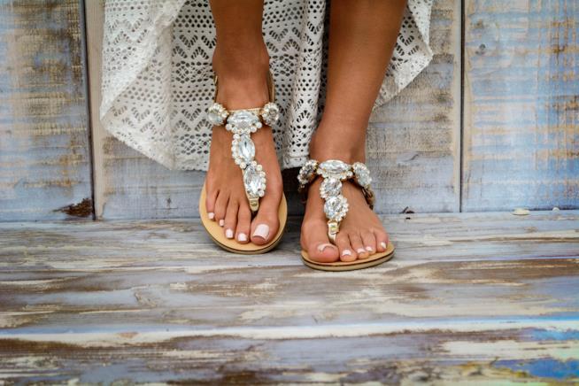 Migliori sandali gioiello donna di Etsy