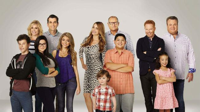I protagonisti di Modern Family
