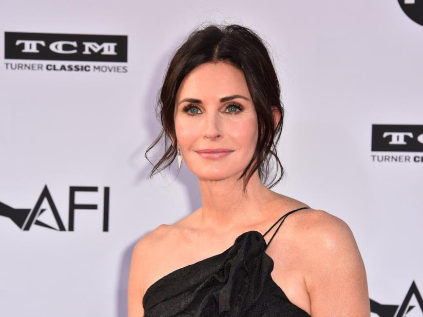 L'attrice Courteney Cox