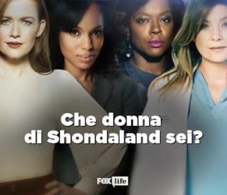 Che donna di Shondaland sei?