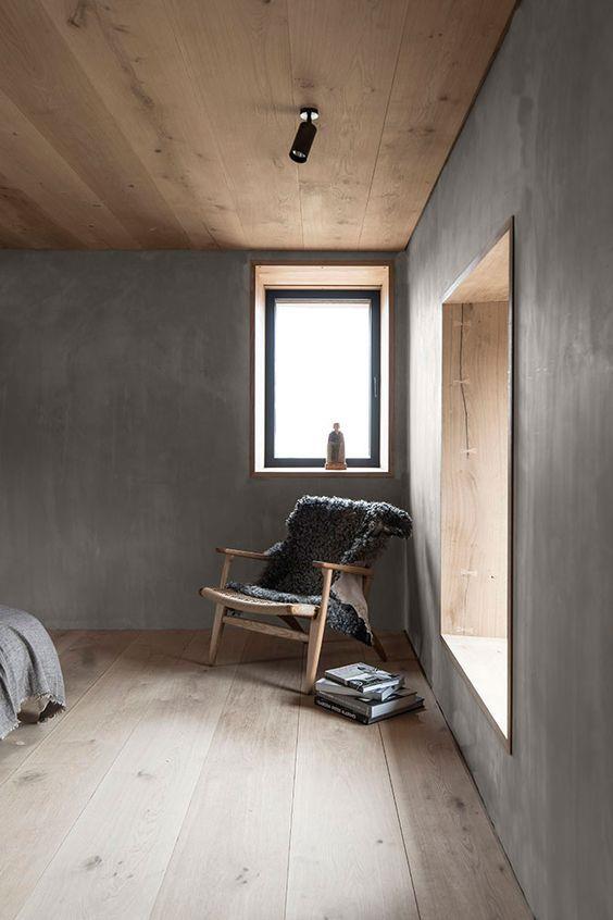 Poltrona per la camera in stile nordico