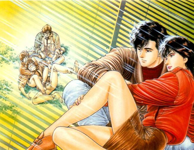 City Hunter, il manga più famoso di Tsukasa Hojo, ospita a Romics