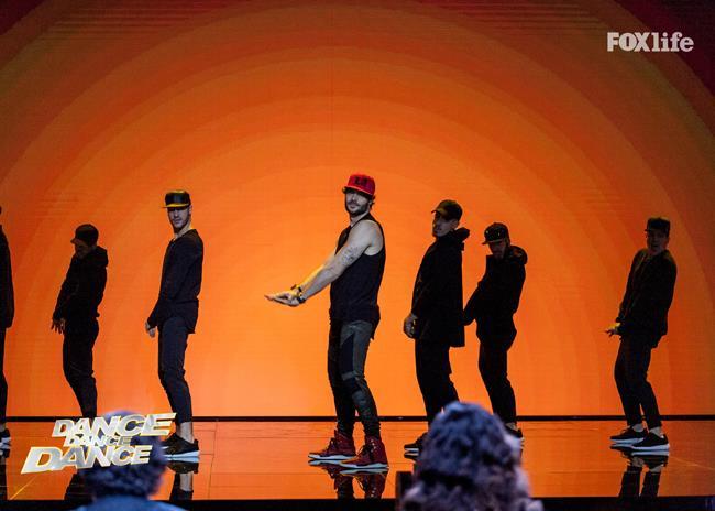 Giulio, esibizione terzo serale di Dance Dance Dance 2
