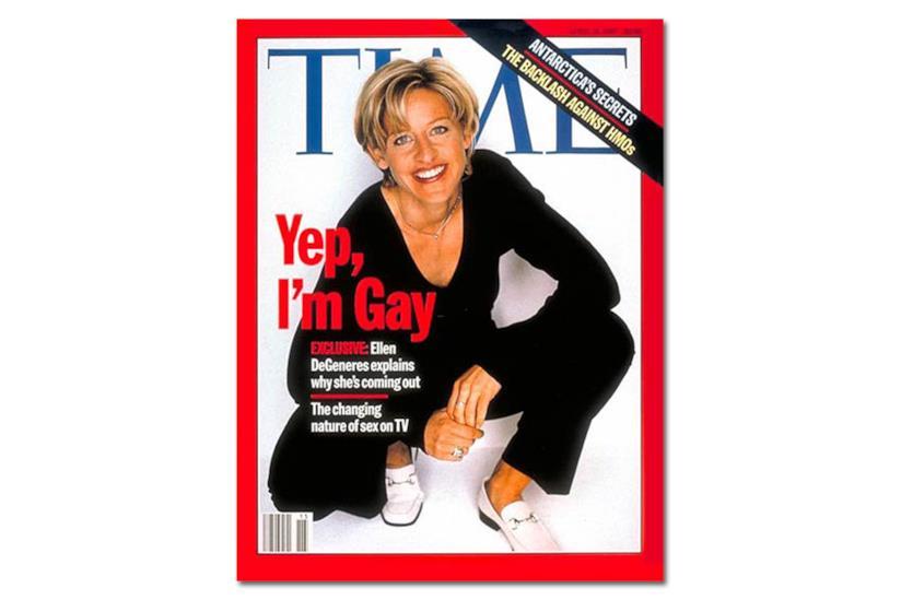 La copertina del Time dedicata a Ellen DeGeneres