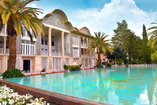 Il Giardino di Eram a Shiraz in Iran
