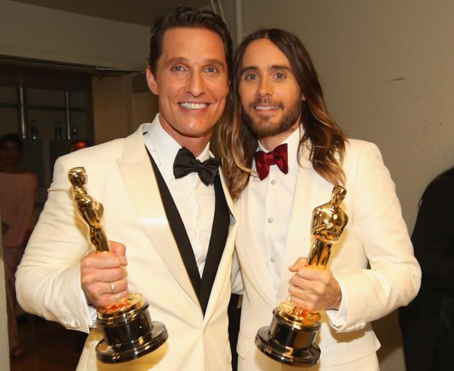 Matthew McConaughey e Jared Leto agli Academy Awards 2014