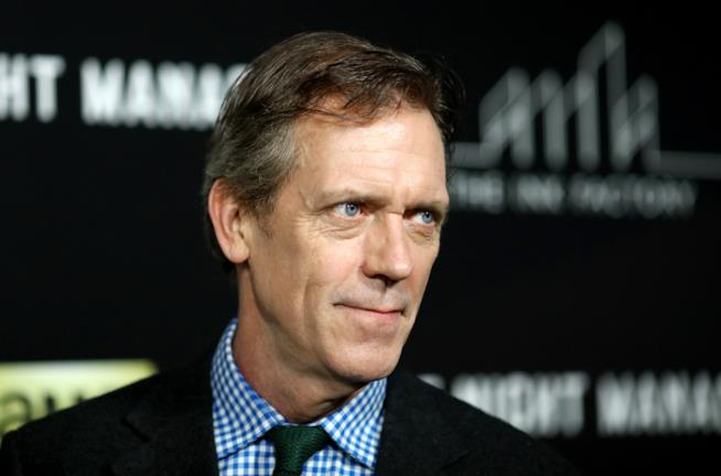Hugh laurie ad un evento per The Night Manager