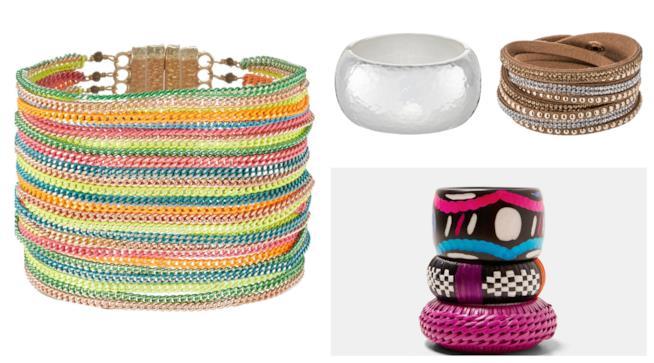 Maxi e multi filo, i bracciali di tendenza per l'estate 2018