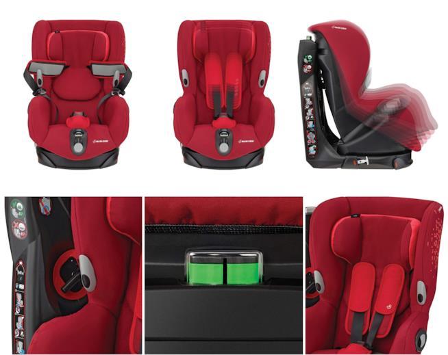 Maxi-Cosi 8608721110 Seggiolino Auto Axiss, Rosso