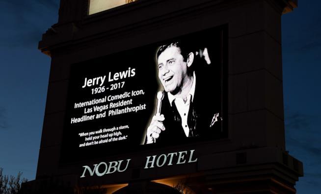 Las Vegas ricorda Jerry Lewis