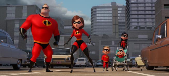 Gli Incredibili 2: Bob, Helen, Violetta, Flash e Jack-Jack in una nuova avventura