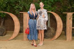 Le sorelle Ferragni alla sfilata Dior