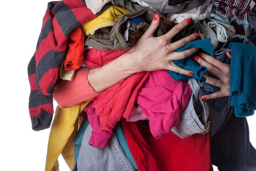 Mucchi di vestiti