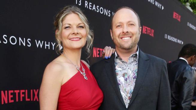 Jay Asher e la moglie Joan Marie Asher
