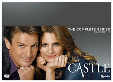 Cofanetto DVD di Castle - Seasons 1-8