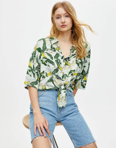 Camicia collezione Sadie Sink by Pull&Bear