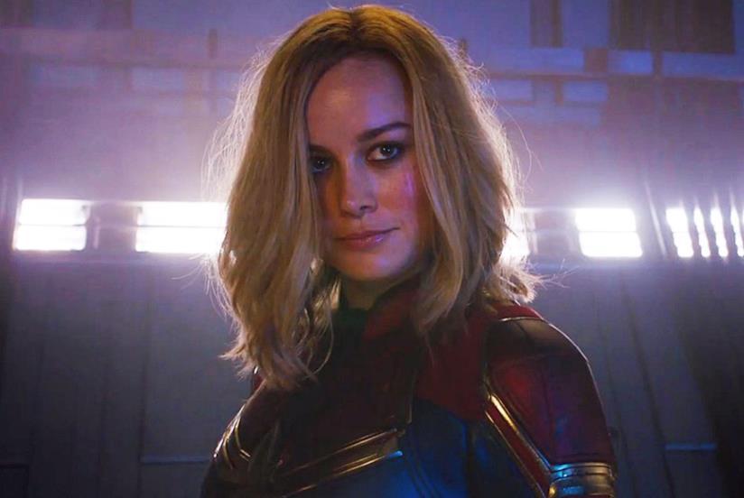 Brie Larson è Captain Marvel
