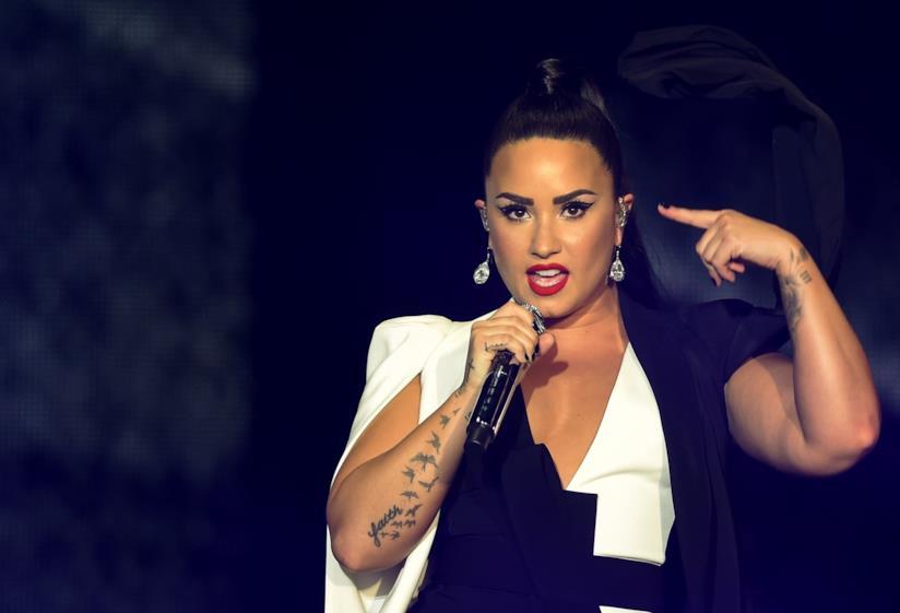 Demi Lovato in scena