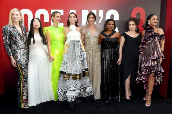 Ocean's 8: il cast alla première a New York