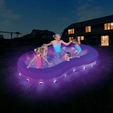 Piscina per bambini con luci e led
