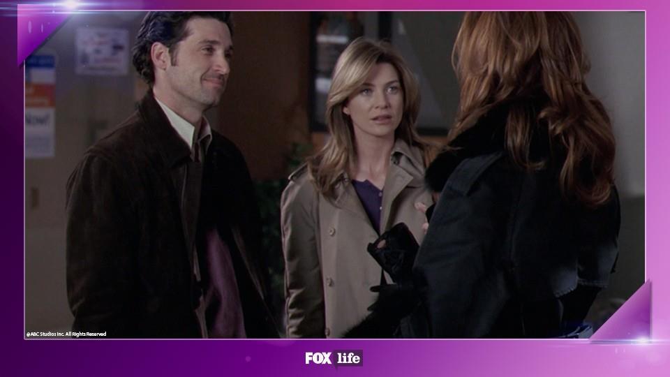 3) Meredith scopre che Derek ha una… moglie!