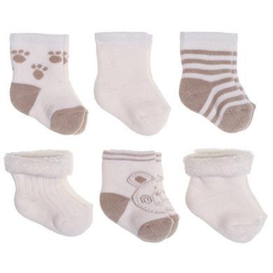Set di 6 paia di calzini per neonato
