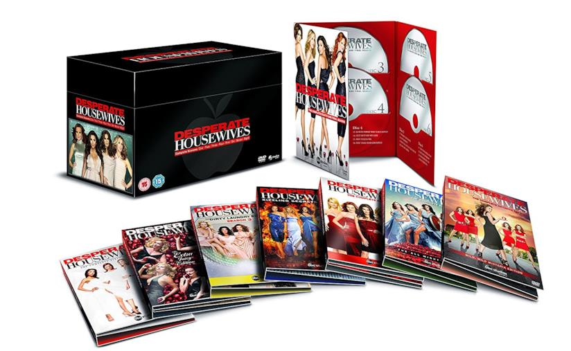 Cofanetto DVD di Desperate Housewives - Seasons 1-8