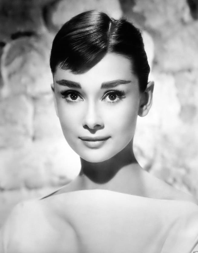 Un ritratto di Audrey Hepburn