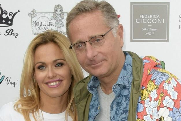 Paolo Bonolis e Sonia Bruganelli a un evento
