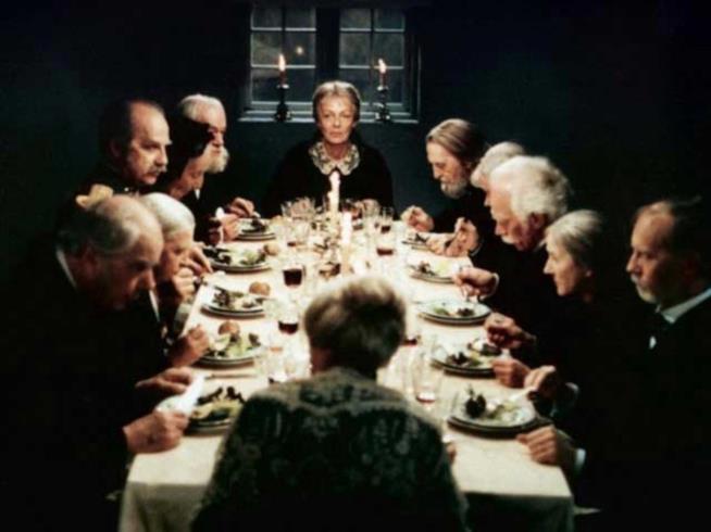Una scena del film di Gabriel Axel del 1987
