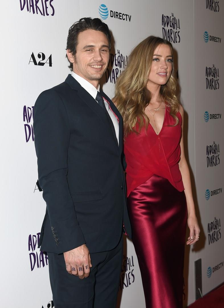 James Franco e Amber Heard