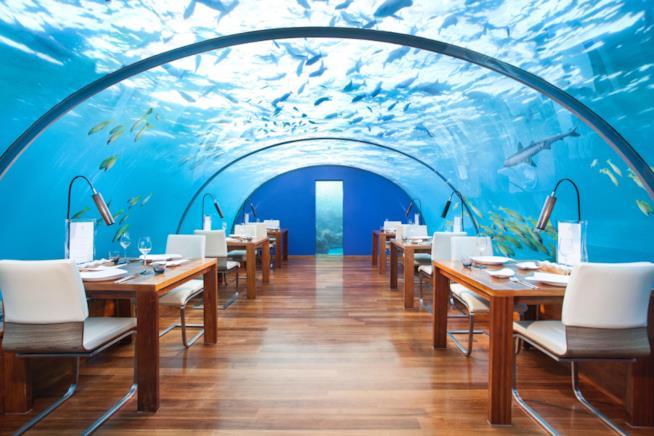 Il Conrad Maldives Rangali Island alle Maldive
