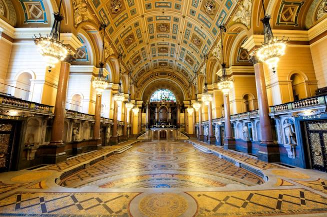 La St. George Hall, nuovo del ricevimento di Harry e Meghan