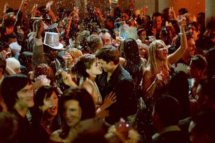 Il bacio di Sballati d'amore a Capodanno
