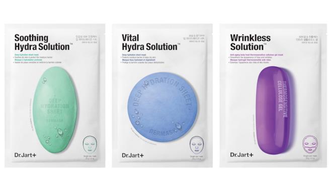 Le nuove maschere in tessuto di Dr.Jart+