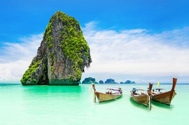 Panorama di Phuket in Thailandia