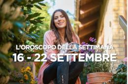 L'oroscopo della settimana, 16 - 22 Settembre 2019