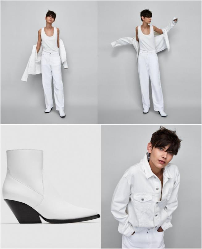 Outfit bianchi di Zara