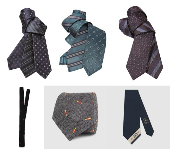 Regali per lui: cravatte