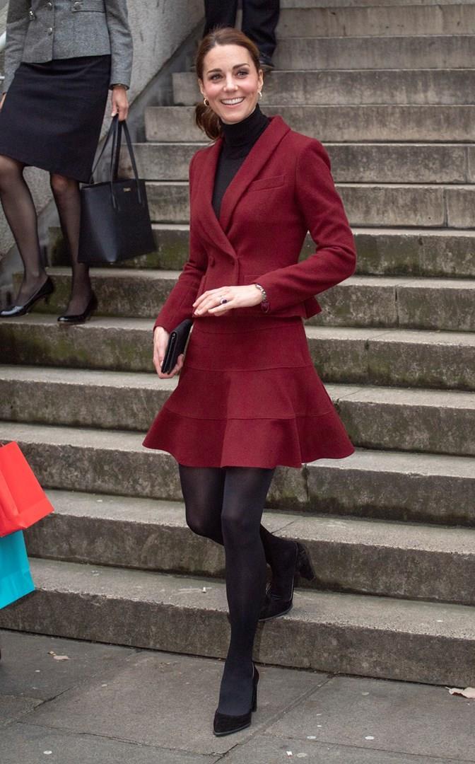 Kate Middleton a figura intera