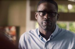 Un'immagine di Sterling K. Brown nei panni di Randall in This Is Us
