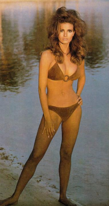 Il famoso bikini marrone di Raquel Welch